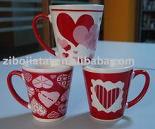 Ceramic V Shape Mug