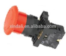 high quality 54mm mushroom head emergency stop push-pull button switch N/C LAY5-ES542