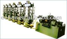 rubber soles vulcanizing press equipment