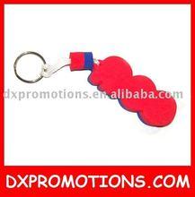 customized eva key ring/floating key ring/fancy key rings