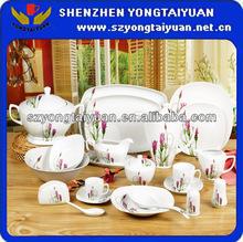 Best quality opal ware porcelain dinner set