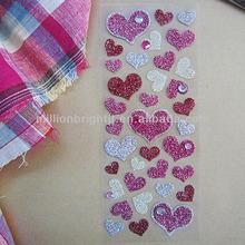 Glitter Mobile phone decoration sticker