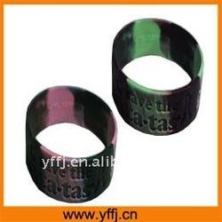 wide silicone wrist strap for sale