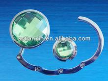 round diamond foldable bag hanger