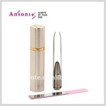 Eyebrow tweezer with a LED light and stainless steel