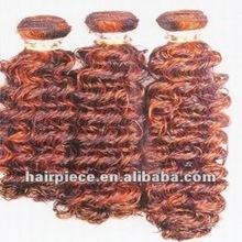 sensationnel hair/colored two tone hair weave