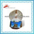 resina personalizado globo de nieve