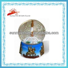 custom resin snow globe