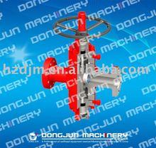 Hydraulic/pneumatic rising stem PFF Series gate valve