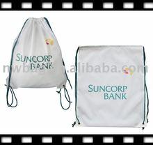 Drawstring bag/polyester backpack/210d backpack