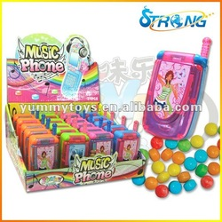 Music Phone Sweet Candy Toy