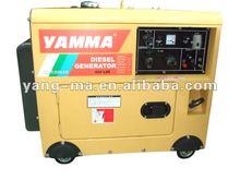 5KW yanmar same design Air cooled engine power diesel silent generator set