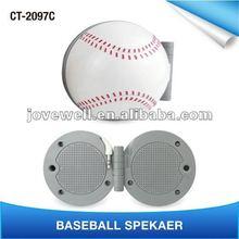 Best Price of CT-2097C Baseball MP3 Mini Speaker