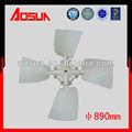 Abs 890mm torre de enfriamiento del ventilador, para el envío de piezas