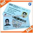 Plastic student id card