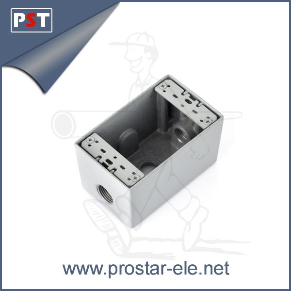Aluminum Outlet Boxes m Aluminum Socket Boxes