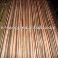 0.45mm macassar ebony folheado de madeira