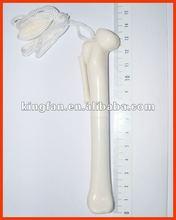 bone shaped plastic pen with lanyard