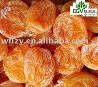 Yellow dried apricot