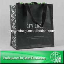 Promtional pp woven wine bag