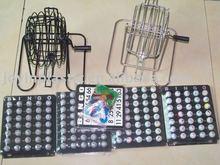 6-9inch play metal casino bingo game/cartones de bingo