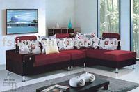 home furniture 2014 hot style fashion cloth sofa set