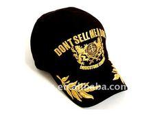 2012 cool design cotton baseball cap for men