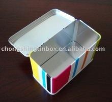 Rectangular food tin container house