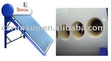 color steel solar water heater