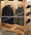 de madera del zapato exhibición de la tienda bastidores y soportes