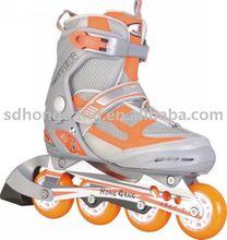 104 orange cause design inline skate 4 wheels for kids