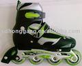 Roller skate inline 105a coloré. lames pour le sport