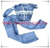 #FGAS001 reflective plastic rain suit