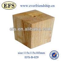 antique unfinished wood furniture leg(EFS-B-029)