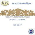 De madera maciza de madera tallado artesanal( efs- cd- 19)