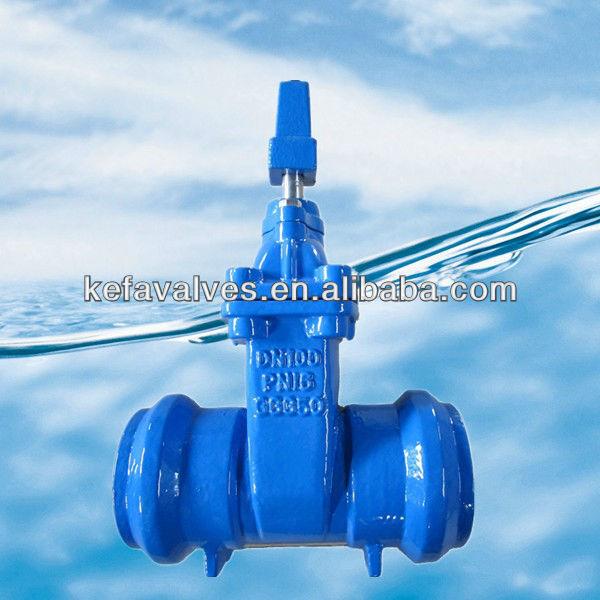 cast iron gate valve gear operated