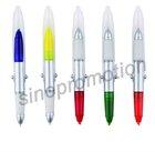 promotional plastic ballpoint pen and marker pen(GP2408C)