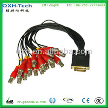 male to male VGA to 8BNC cable for medical machine