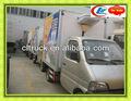 Changan cold caminhão da caixa, barato caixa de caminhões, caminhão da caixa seca