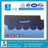 China Brand Fiberglass Fish-scale Roofing Tile Shingles