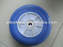 pu foam wheel 260x85mm for wheelbarrow or handtruck