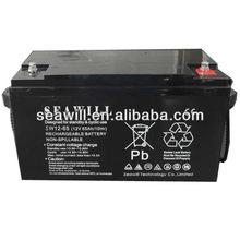 VRLA battery Solar deep cycle battery 12v 65Ah for solar use