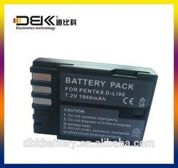 Digital Li-ion camera battery charger for PENTAX D-Li90