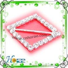 de la boda de diamante de imitación hebilla de cinturón para prendas de vestir