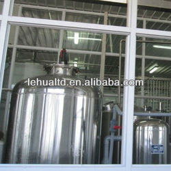 Complete set of dairy processing line
