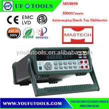MASTECH MS8050 53000 Counts Autoranging Bench Top Multimeter /High Accuracy Bench Model Multimeter Dmm