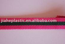 Colorido ou preto de nylon algodão pp webbing