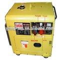 5gf- ldea luftgekühlt 4.2kw/4.6kw 5,5/5 kva tragbarer schalldicht diesel-generator max 5kw mit ats automatic transfer switch