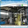 Recyclé en plastique à pétrole brut recyclage usine de pyrolyse avec CE / ISO wj - huit de 10 tonnes par lot recycler le plastique pour profit