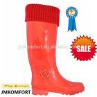 Ladies lostland wholesale rubber fashionable rain boot